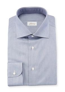 Brioni Men's Chambray Dress Shirt