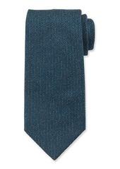 Brioni Men's Heathered Solid Silk Tie