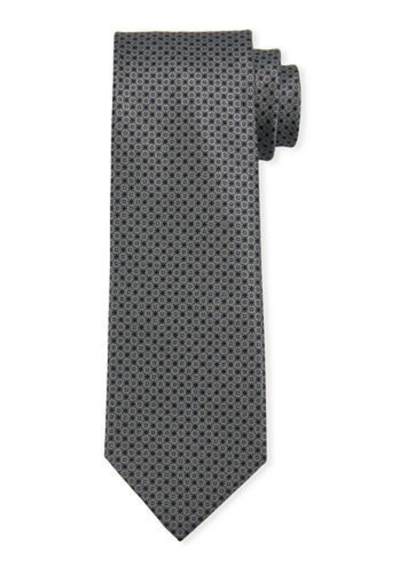 Brioni Men's Medium Neat Silk Tie