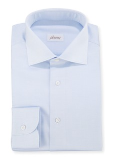 Brioni Men's Micro-Dot Dress Shirt