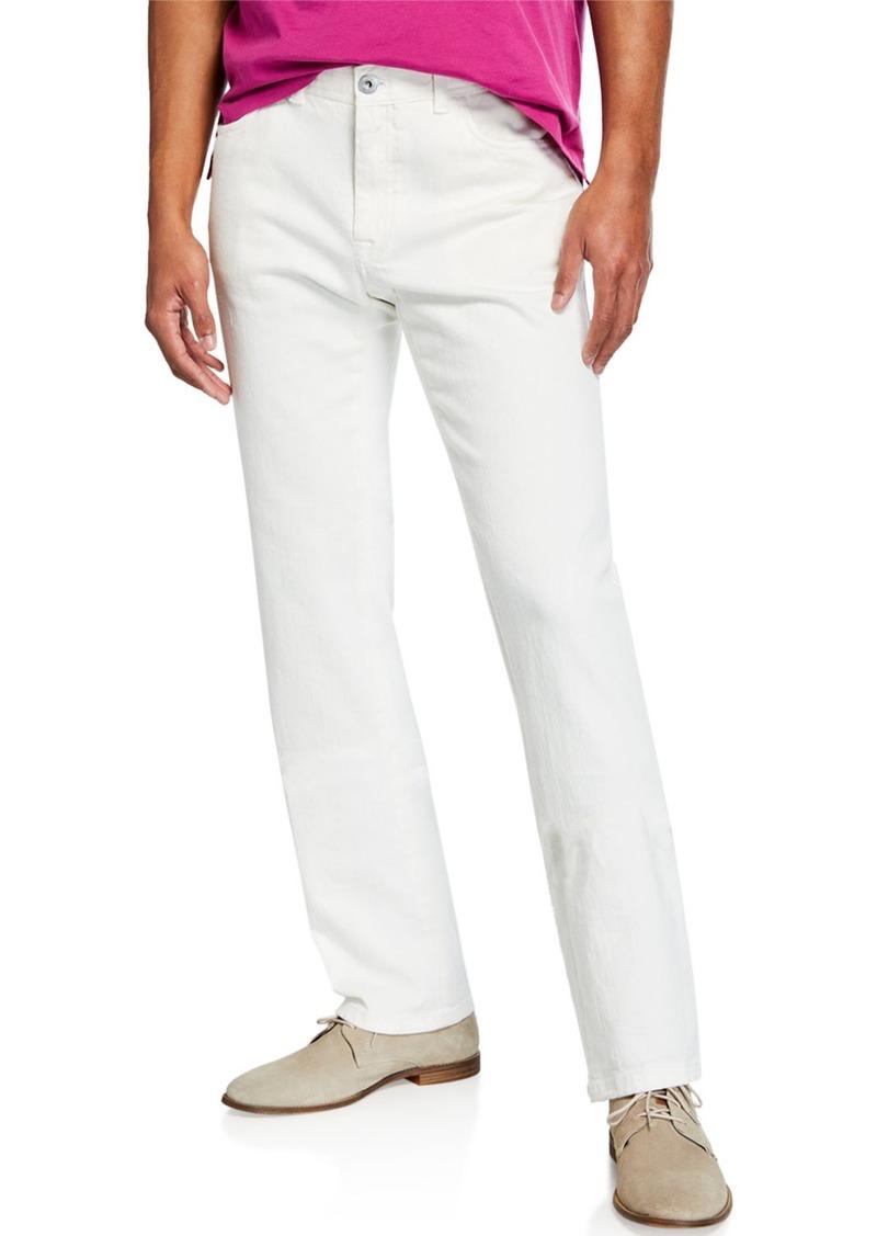 Brioni Men's Pants with Pocket Detail