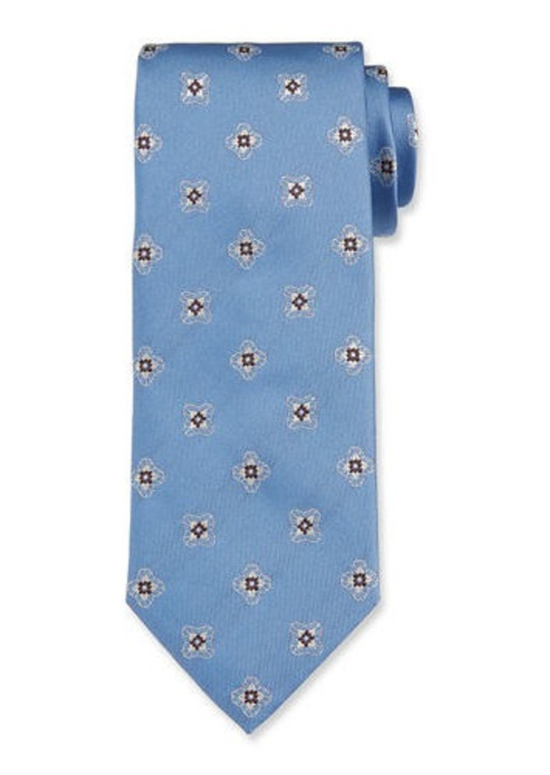 Brioni Men's Silk Medallion Tie