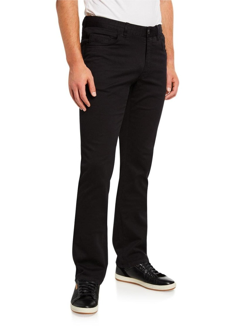 Brioni Men's Slim-Straight Twill Pants