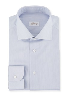 Brioni Men's Slim-Stripe Dress Shirt