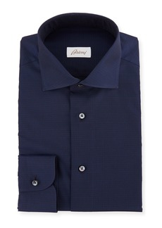 Brioni Men's Solid Cotton Dress Shirt