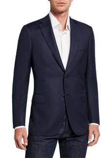 Brioni Men's Solid Wool Blazer