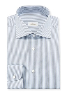 Brioni Men's Striped Dress Shirt