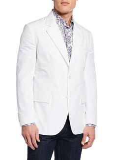 Brioni Men's Two-Button Cotton Jacket