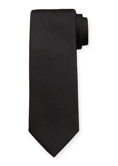 Brioni Men's Woven Chevron Silk Tie