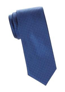 Brioni Micro Dot Silk Tie