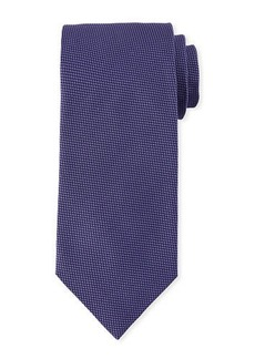 Brioni Micro Houndstooth Silk Tie