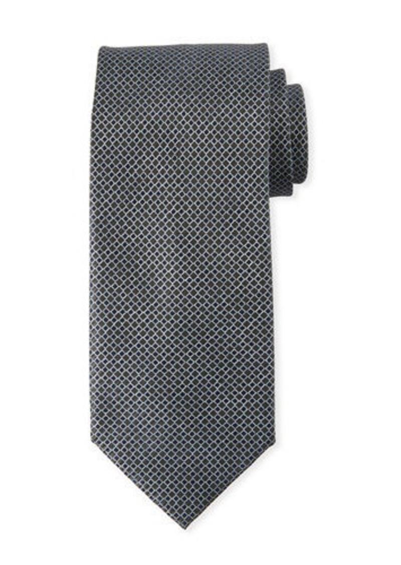 Brioni Micro Squares Silk Tie