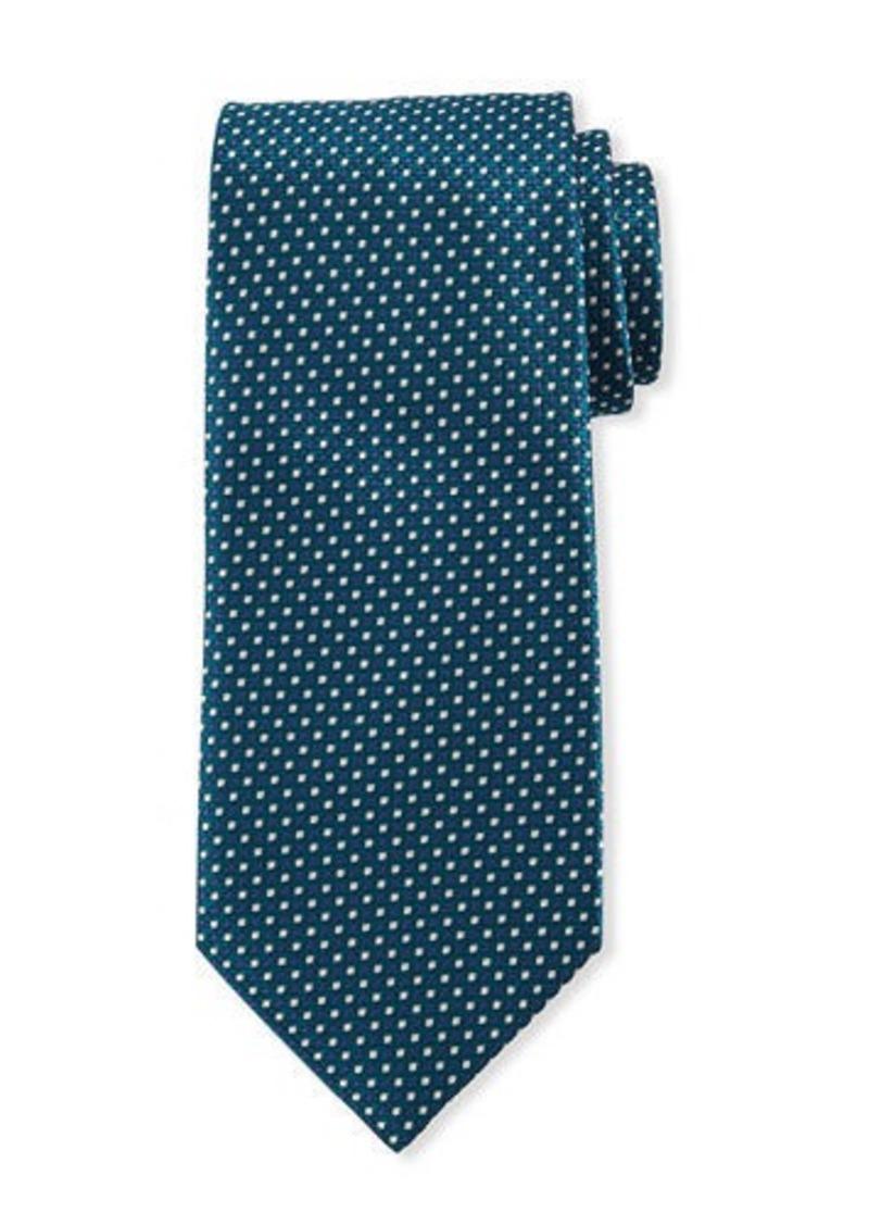 Brioni Micro Squares Tie