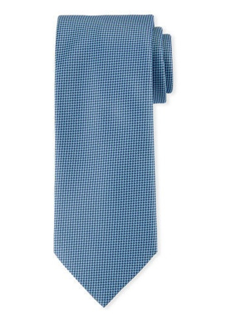 Brioni Mini Square Silk Tie