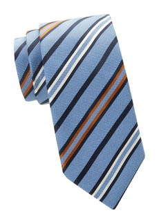 Brioni Mixed Stripe Silk Tie