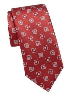 Brioni Ornate Silk Tie