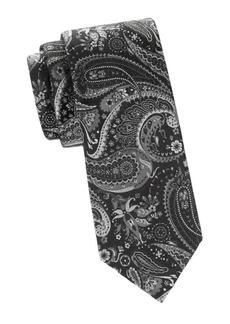 Brioni Paisley Jacquard Silk Tie