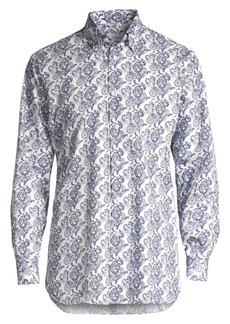 Brioni Paisley Print Sportshirt
