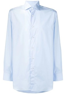 Brioni pointed collar shirt