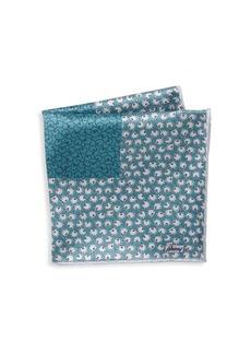 Brioni Print Silk Pocket Square
