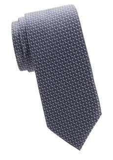 Brioni Printed Boxes Tie