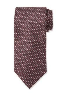 Brioni Printed Cubes Silk Tie