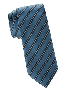 Brioni Printed Stripe Tie