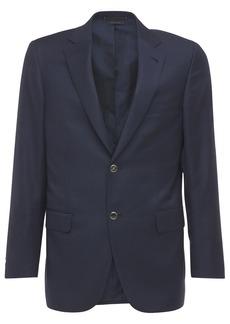 Brioni Ravello 24 Hopsack Wool Jacket