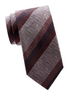 Brioni Regimental Stripe Silk Tie