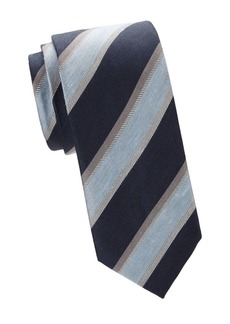 Brioni Regimental Striped Silk Tie
