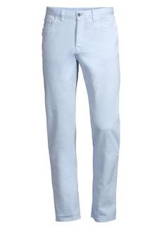 Brioni Regular-Fit Five-Pocket Cotton Pants