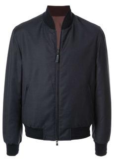 Brioni reversible bomber jacket
