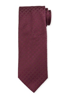 Brioni Scroll Jacquard Silk Tie