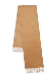 Brioni Silk & Linen Fringe Scarf