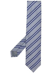 Brioni silk striped tie