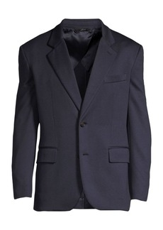 Brioni Single-Breasted Jersey Jacket