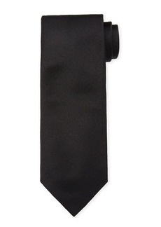 Brioni Solid Silk Satin Tie