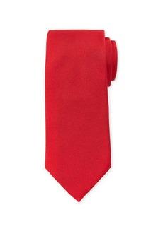 Brioni Solid Textured Silk Tie