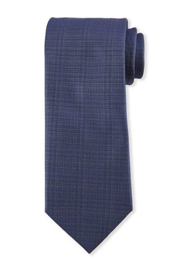 Brioni Solid Woven Tie