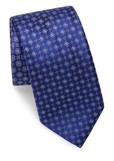Brioni Starburst Silk Tie