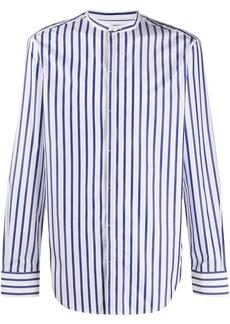 Brioni striped long-sleeve shirt