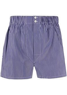 Brioni striped print boxers