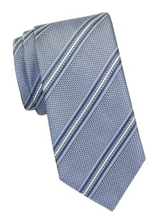 Brioni Striped Silk Tie