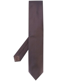 Brioni textured pointed tie