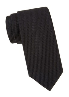 Brioni Textured Solid Silk Tie