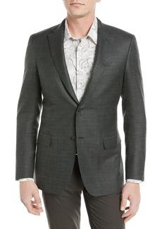 Brioni Textured Tri-Blend Blazer