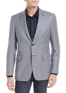 Brioni Tic Textured Wool Blazer