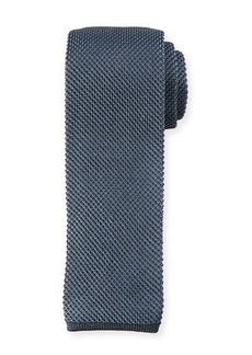 Brioni Two-Tone Silk Knit Tie