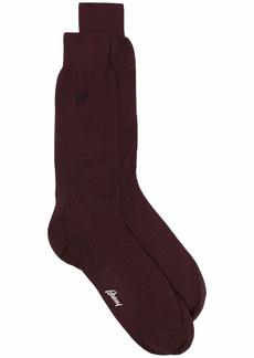 Brioni ultra-fine wool-blend socks