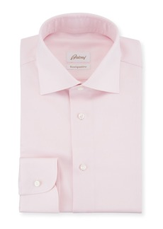 Brioni Ventiquattro Twill Dress Shirt